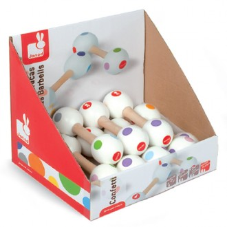 Maracas Confetti (Display 12uds)