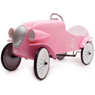 Bolides rose coche a pedales