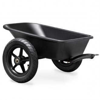 Remolque-trailer junior black