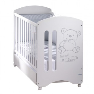 Cuna de 120 por 60 sweet bear basic