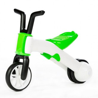 Correpasillos y bicicleta  2 en 1 bunzi stable balance ride-on lime