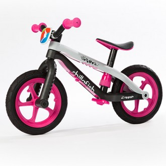 Bicicleta sin pedales bmxie balancebike pink