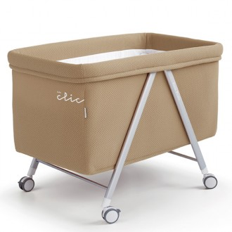 Minicuna baby clic color beige