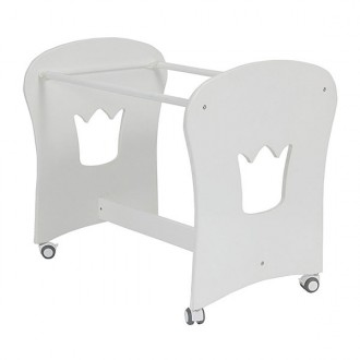 Estructura minicuna crown blanco