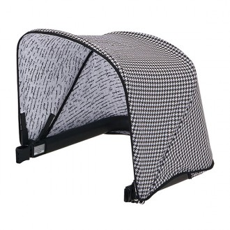 Capota para silla de paseo bugaboo black and white
