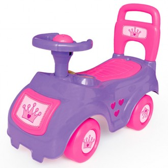 Correpasillos sit and ride rosa