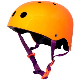 Casco ne?n naranja small