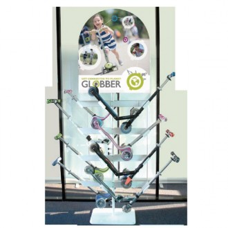 GLOBBER METAL DISPLAY