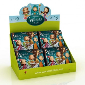 EXPOSITOR WONDERFUL CON 24 CD NAVIDAD CASETELLANO